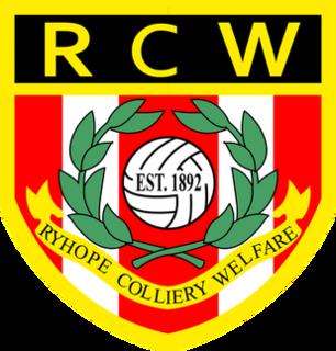 Ryhope Colliery Welfare F.C. Association football club in England