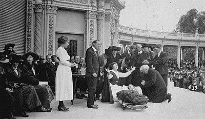 Faith healing ministry of Aimee Semple McPherson - Wikipedia