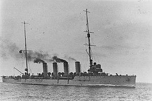 SMS Novara (1913) - Image: SMS Novara NH 87444