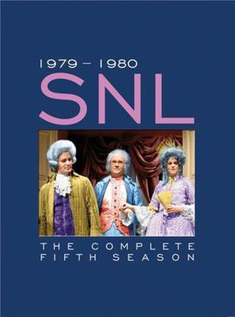 Saturday Night Live (season 5) - Image: Saturday Night Live season 5 DVD cover art