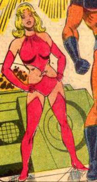Saturn Girl - Saturn Girl in her silver age variant uniform