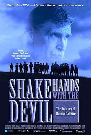 Shake Hands with the Devil: The Journey of Roméo Dallaire - Theatrical release poster