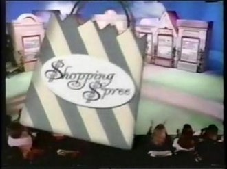 Shopping Spree - The show's logo.