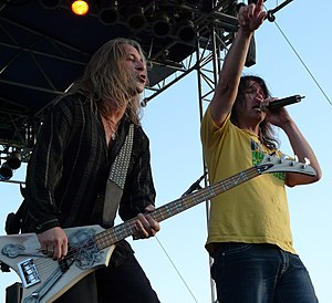 Slaughter (band) - Slaughter performing on June 21, 2008 in West Fargo, North Dakota