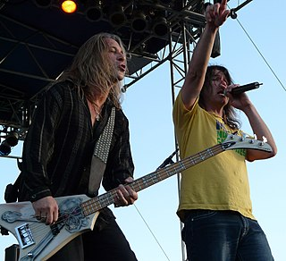 Slaughter (band) rock band from the United States
