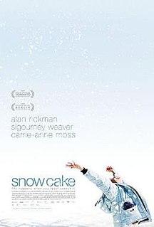 <i>Snow Cake</i> 2006 film by Marc Evans