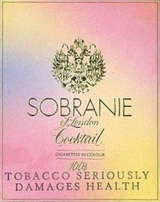Sobranie - Image: Sobranie Cocktail cigarettes