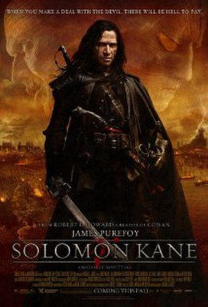 Solomon Kane (film) - Theatrical release poster