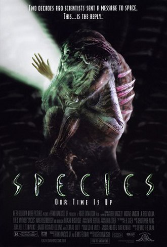 Species (film) - Theatrical release poster