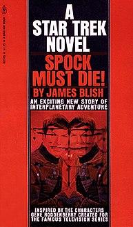 <i>Spock Must Die!</i> novel
