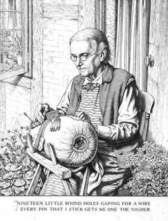 Stanley Anderson (artist) - Image: Stanley Anderson The Lacemaker 1939