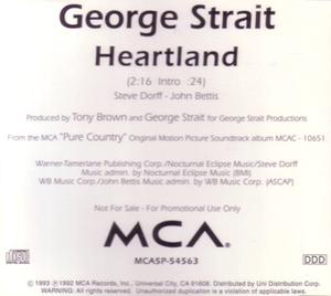 Heartland (George Strait song) - Image: Strait Heartland