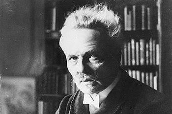 August Strindberg as an older man