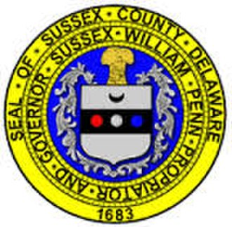 Sussex County, Delaware - Image: Sussex County Seal