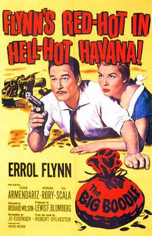 The Big Boodle - 1957 Theatrical Poster