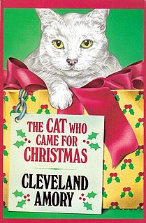 <i>The Cat Who Came for Christmas</i> 1987 book by Cleveland Amory