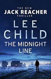 <i>The Midnight Line</i> 2017 novel by Lee Child