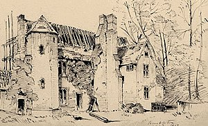 Wimbledon Manor House - The Old Rectory, Wimbledon, c. 1860 by Charles Mileham (1837 – 1917)