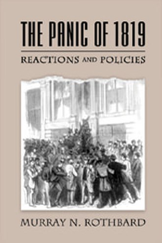 The Panic of 1819 (book) - Image: The Panic of 1819 (book)