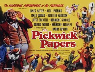 <i>The Pickwick Papers</i> (1952 film) 1952 film by Noel Langley