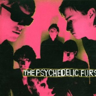 The Psychedelic Furs (album) - Image: The Psychedelic Furs re issue cover