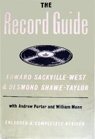 The Record Guide - Dust-jacket of the 1955 edition