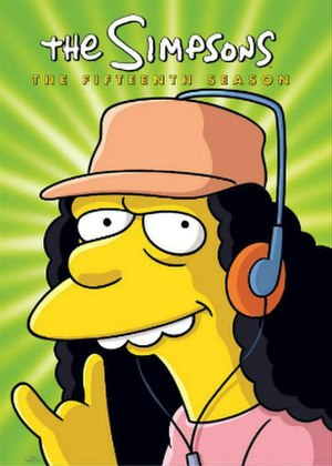 The Simpsons (season 15) - DVD cover