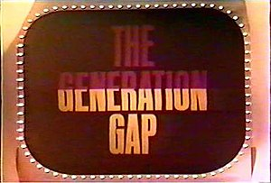 The Generation Gap - The Generation Gap title logo.