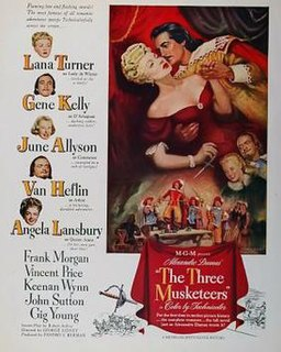 <i>The Three Musketeers</i> (1948 film) 1948 film by George Sidney