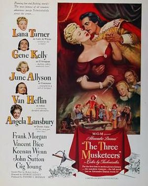 The Three Musketeers (1948 film) - Theatrical poster