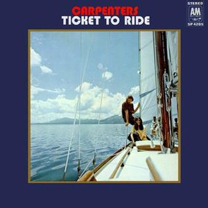 Ticket to Ride (album) - Image: Ticket To Ride (Carpenters album)