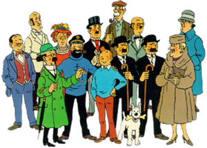 List Of The Adventures Of Tintin Characters Wikipedia