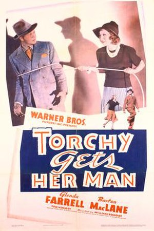 Torchy Gets Her Man - Theatrical release poster