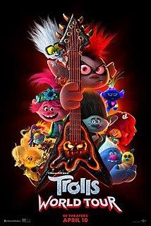 <i>Trolls World Tour</i> 2020 animated film directed by Walt Dohrn