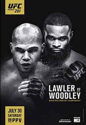 UFC 201 - Image: UFC 201 event poster