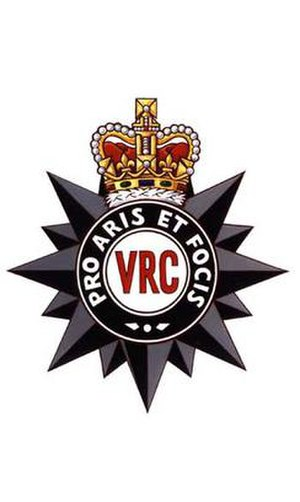 Victoria Rifles of Canada - Image: VRC Cap Badge