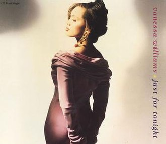 Just for Tonight (Vanessa Williams song) - Image: Vanessa Williams Just For Tonight CD single cover