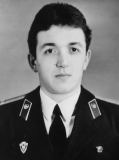 Viktor Kibenok Chernobyl firefighter, Hero of the Soviet Union