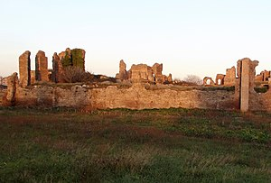 Villa of the sette bassi - Ruins of the Villa of the sette bassi.