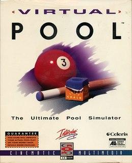 <i>Virtual Pool</i> (video game) 1997 video game