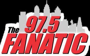WPEN (FM) - Image: WPEN 97.5The Fanatic logo