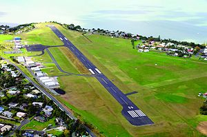 Whangarei Airport - Whangarei Airport, shortly after 2009 upgrades.