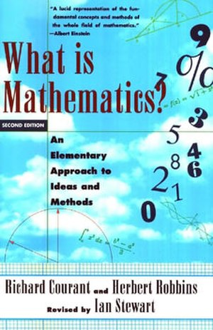 What Is Mathematics? - Cover of 1996 second edition
