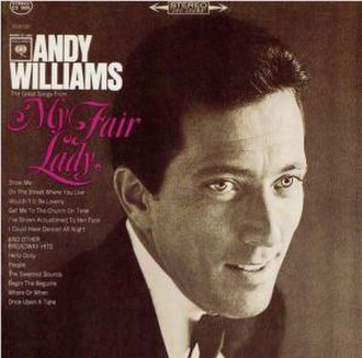 """The Great Songs from """"My Fair Lady"""" and Other Broadway Hits - Image: Williams Lady 2"""