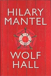 <i>Wolf Hall</i> historical novel by Hilary Mantel