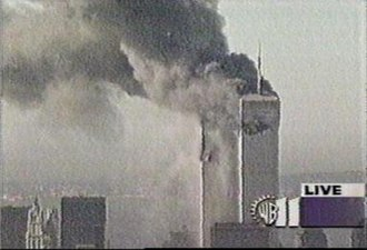 WPIX - Screencap of the frozen WPIX image from September 11, 2001.