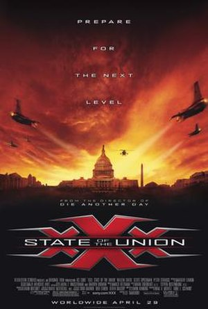 XXX: State of the Union - North American theatrical release poster