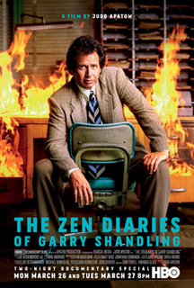 <i>The Zen Diaries of Garry Shandling</i> 2018 documentary film by Judd Apatow