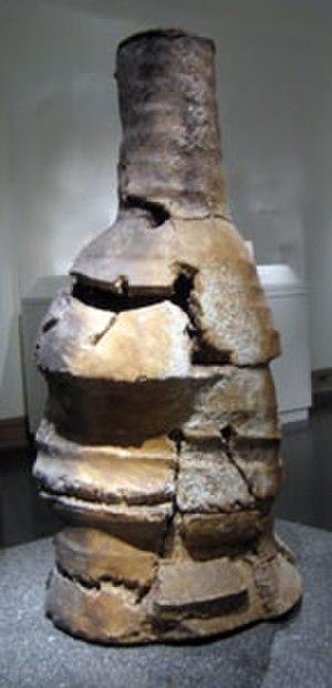 Studio pottery - Peter Voulkos, Noodle. stoneware sculpture, 1996