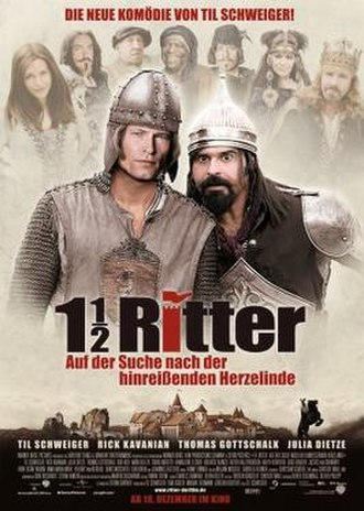 1½ Knights: In Search of the Ravishing Princess Herzelinde - German Theatrical Poster